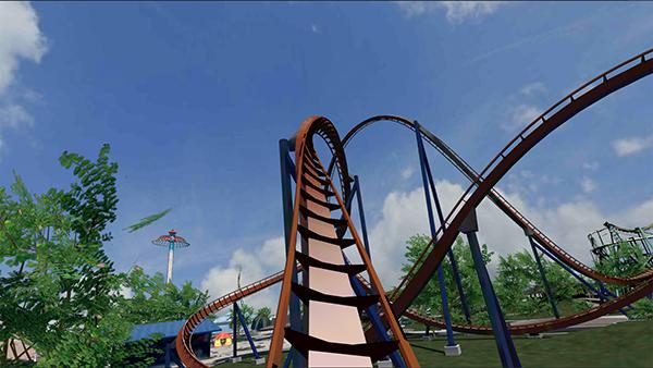 Game Roller Coaster VR 2