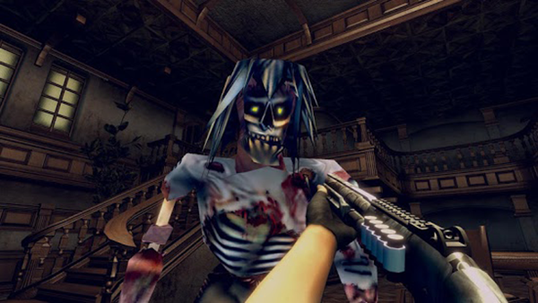 Game Zombie shooter VR 1
