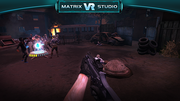 Game Zombie shooter VR 2
