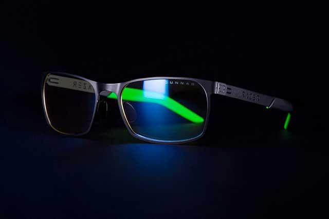 kính razer bảo vệ mắt