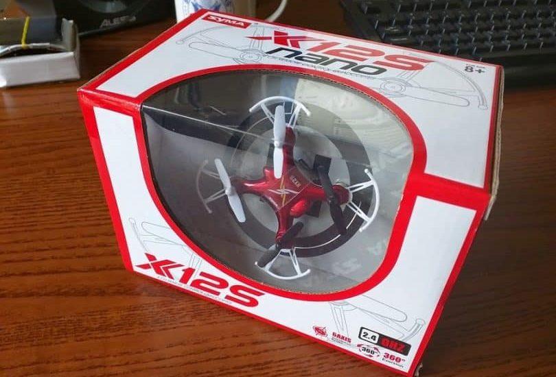 đánh giá drone mini Syma X12S