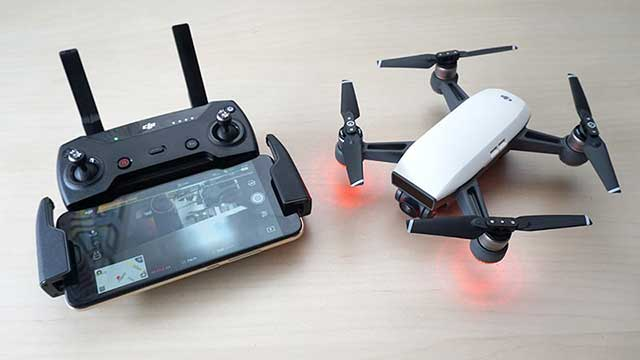 đánh giá drone spark