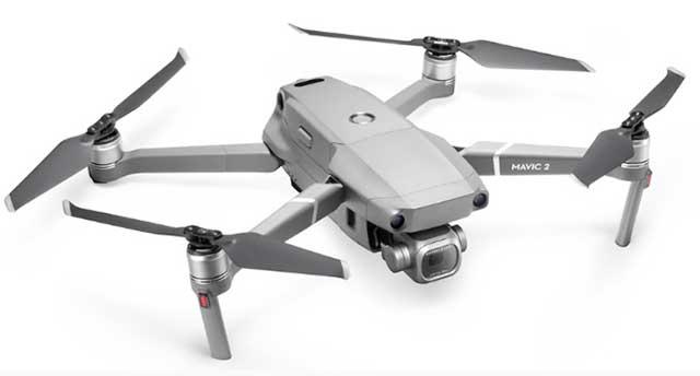 đánh giá thiết kế flycam mavic 2