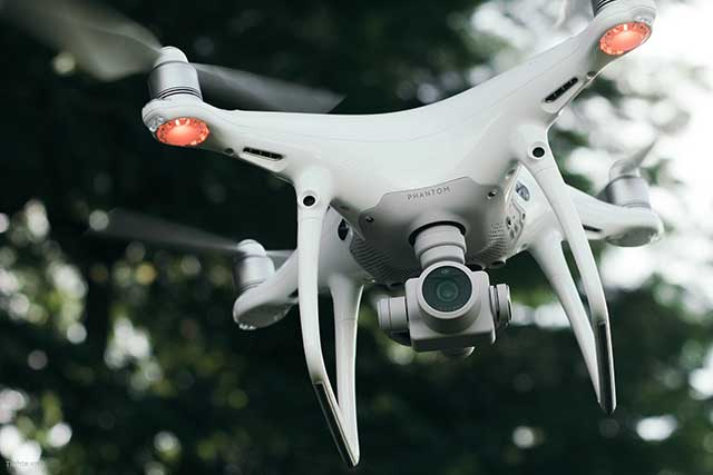 hình ảnh flycam phantom 4 pro