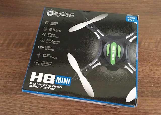 thiết bị drone Eachine H8 mini