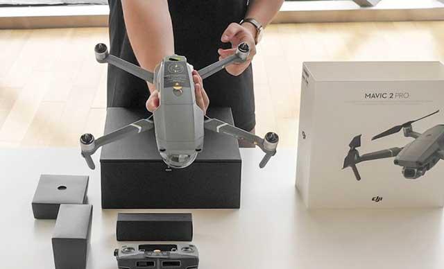 thiết kế nhỏ gọn của flycam