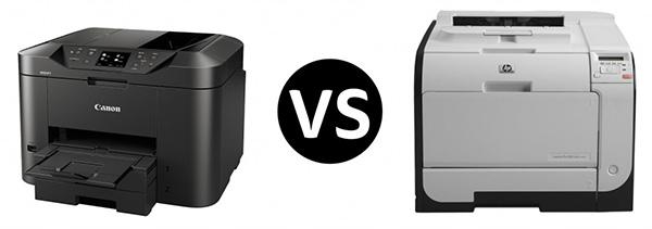 So sánh canon và HP